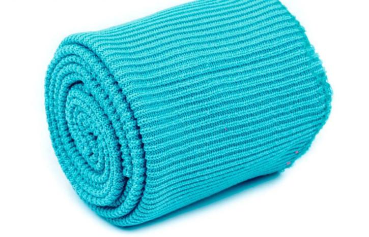 1 Set Bündchen - elastisch in azurblau/pool Fb0022