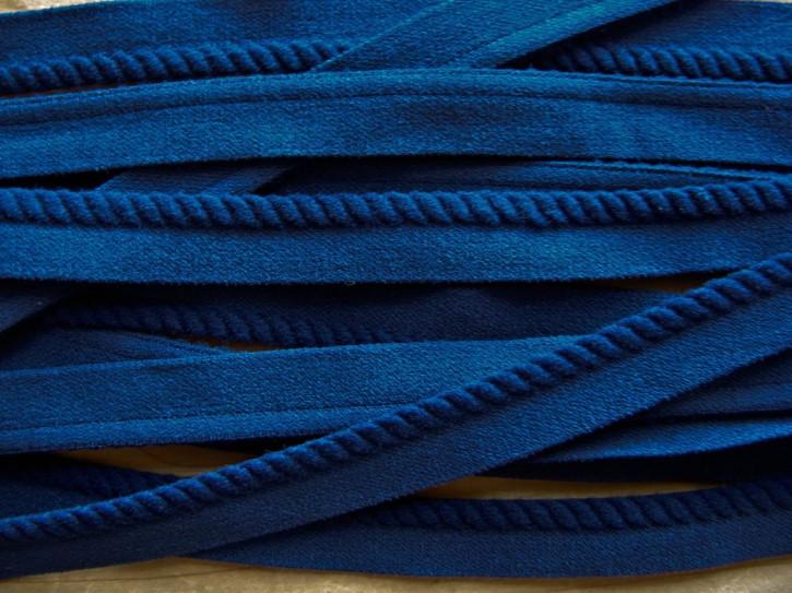 """6m """"Schmuck""""-Paspelgummi in marine-blau Fb1305"""