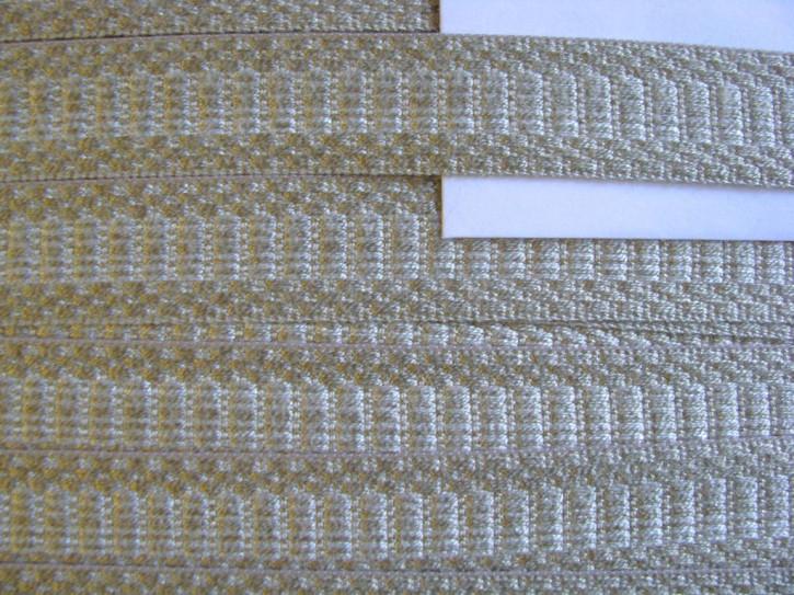 1m edle BW-Web-Borte in stein-beige Fb0372