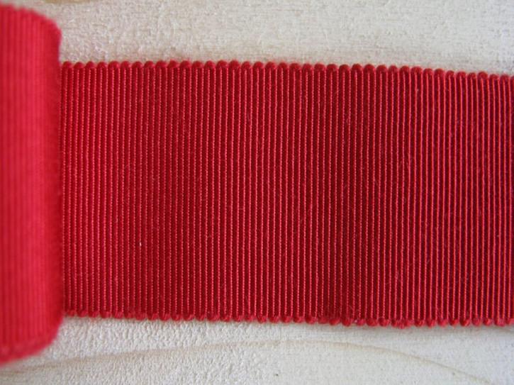 5m Ripsband/Gurtband in kirschrot Fb0504