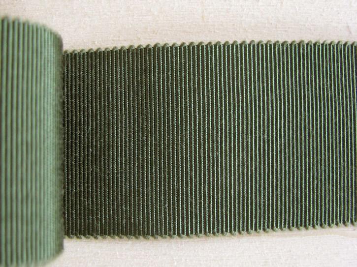5m Ripsband/Gurtband in olivgrün Fb0627