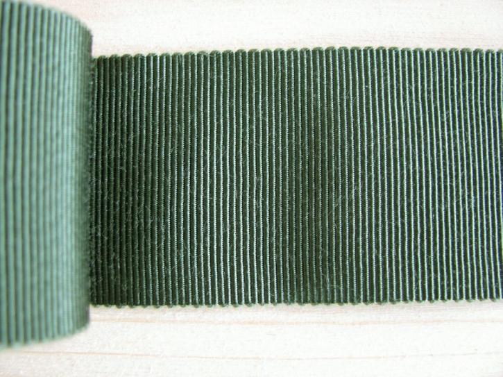 5m Ripsband/Gurtband in waldgrün Fb0627