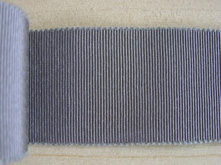 5m Ripsband/Gurtband in blaugrau Fb0343