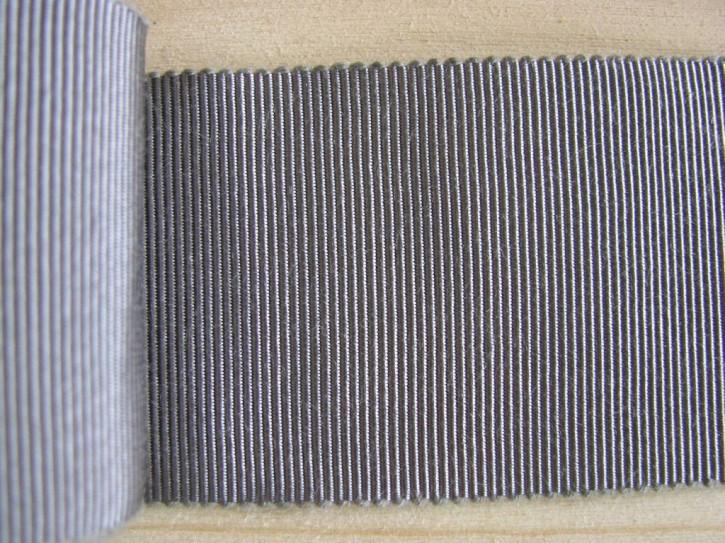 5m Ripsband/Gurtband in platin Fb3506
