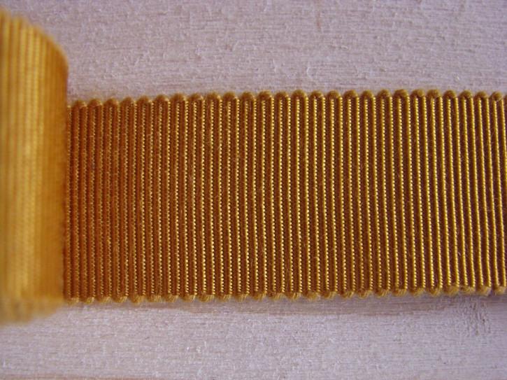 5m Ripsband/Gurtband in ockergold Fb1130