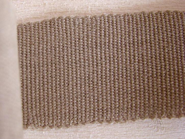 5m Ripsband/Gurtband in sandelholz Fb0475