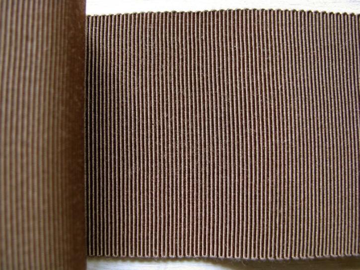 5m Ripsband/Gurtband in d.erdbraun Fb1182
