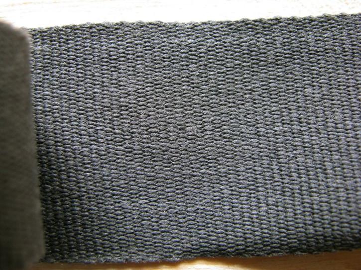 5m Ripsband/Gurtband in schiefergrau Fb1452