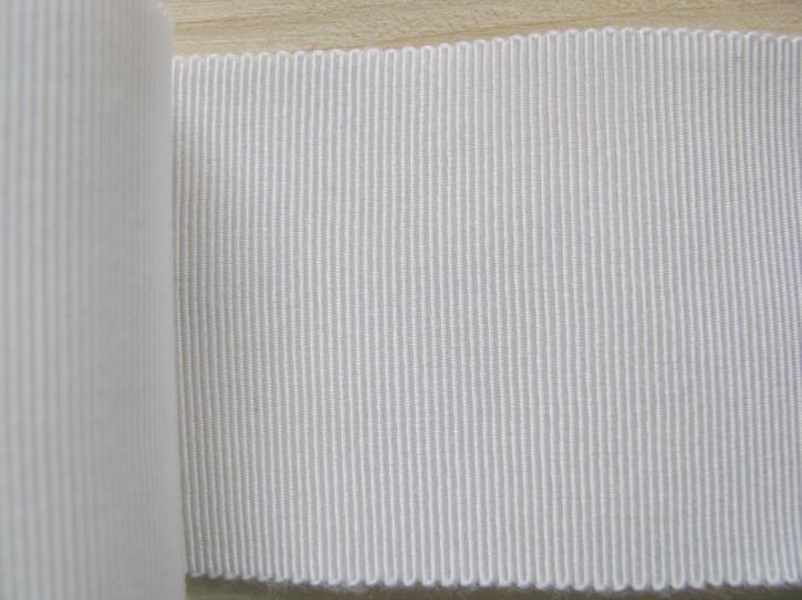 5m Ripsband/Gurtband in perlweiß Fb1000