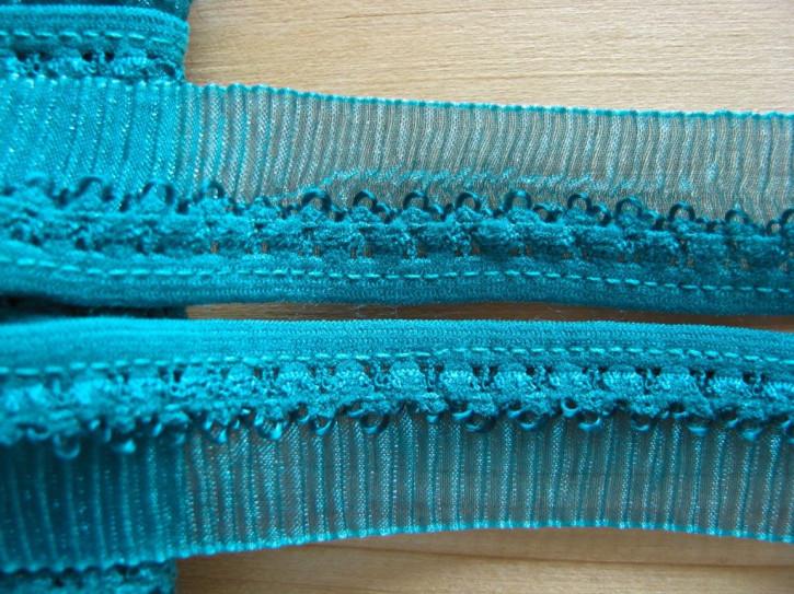 5m Rüschen-Wäschegummi in arizona-blau Fb0692