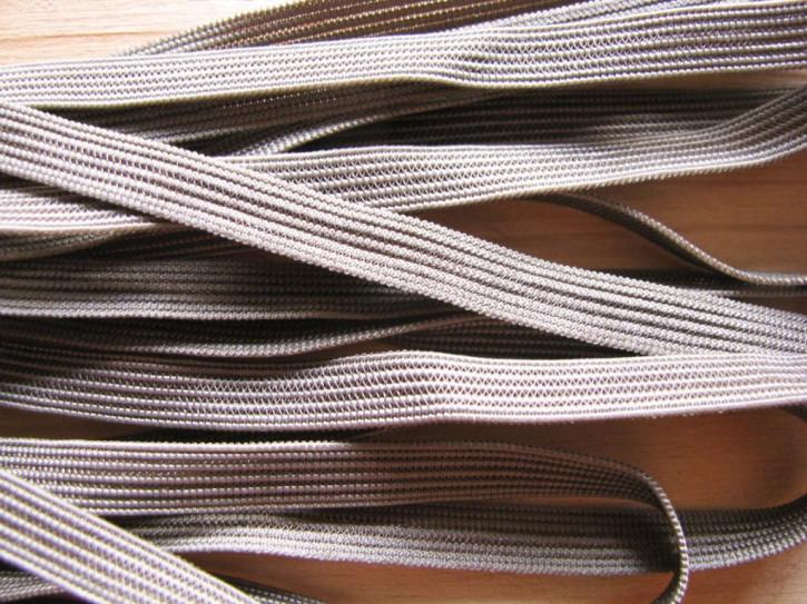 10m zarter Dekollete-Gummi in steppe Fb0269