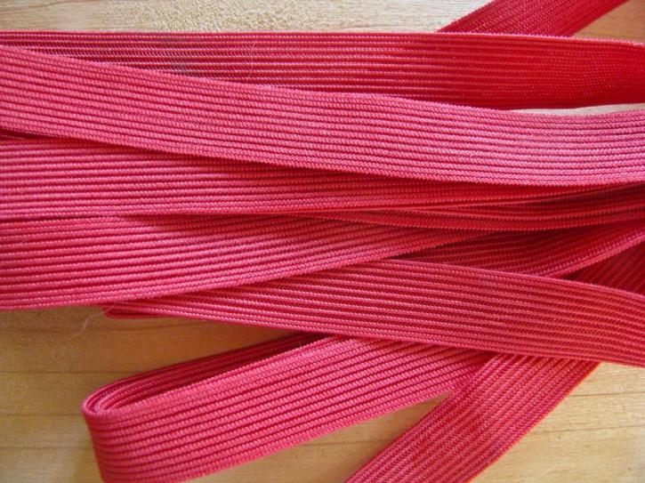 6m zarter Dekollete-Gummi in kirsch-rot Fb0105