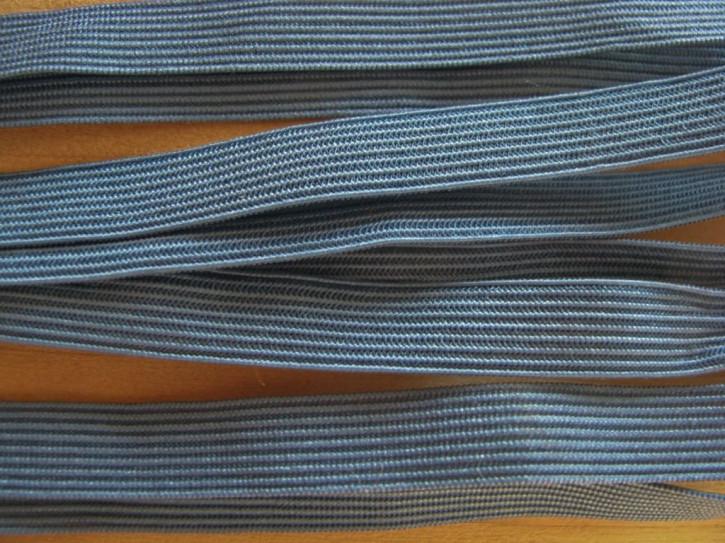 6m zarter Dekollete-Gummi in lagunen-blau Fb0351