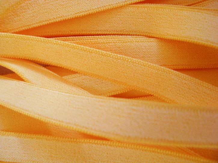 10m zarter Wäsche-Gummi in sonnen-gelb Fb0607