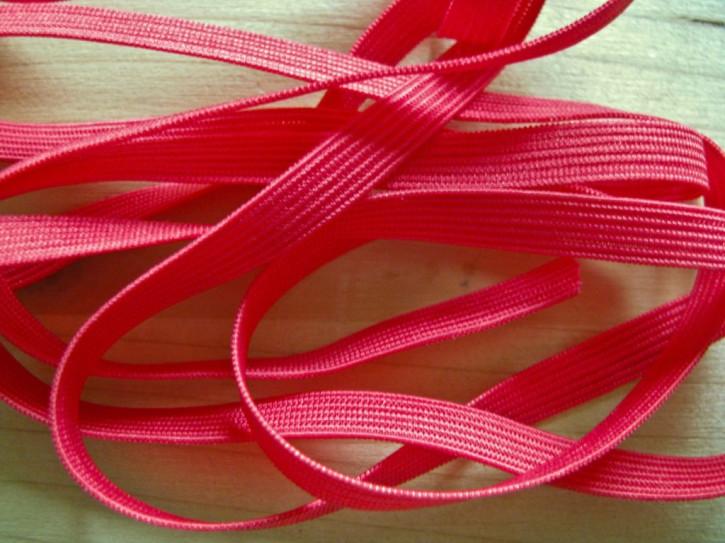 10m Dekolleté-Gummi in nelken-rot Fb0629