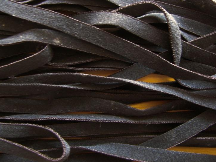 10m zarter Wäsche-Gummi in schwarz Fb4000