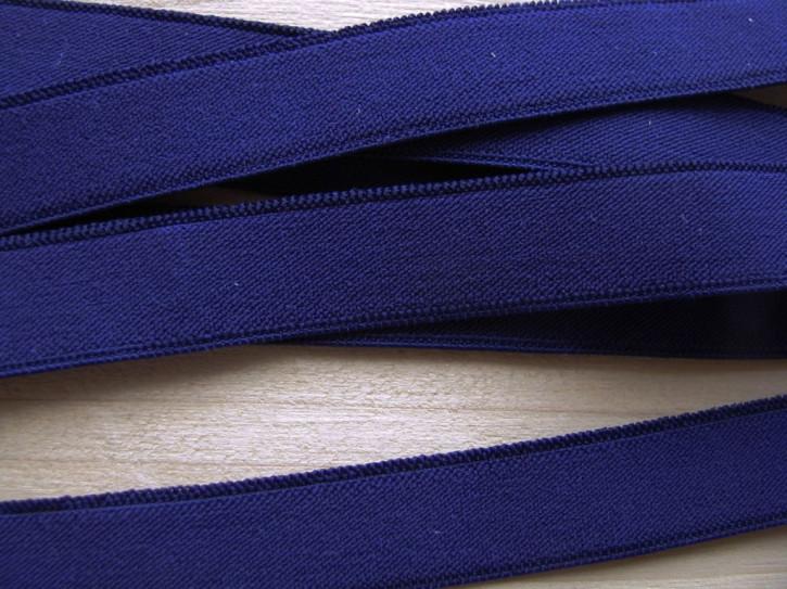 6m Besatz-/Träger-/Einziehgummi in kadetten-blau Fb0014