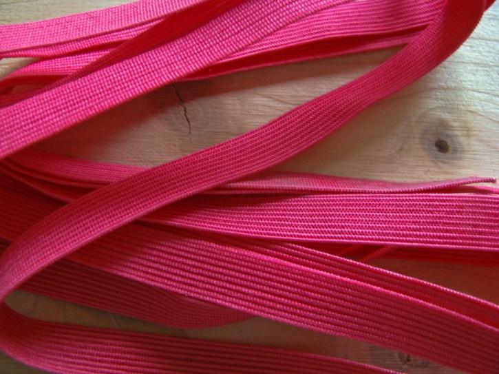 6m zarter Dekollete-Gummi in nelken-rot Fb0629