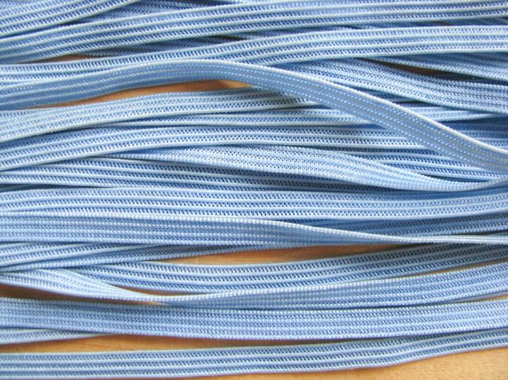 10m Dekolleté-Gummi in puder-blau Fb1464
