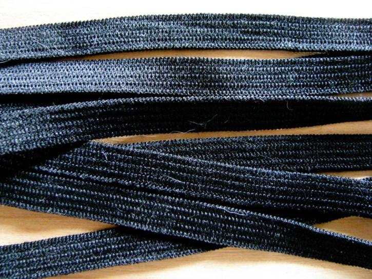 10m Besatz-/Einziehgummi in schwarz Fb4000