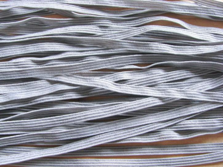 10m zarter Dekollete-Gummi in platino-grau Fb3506