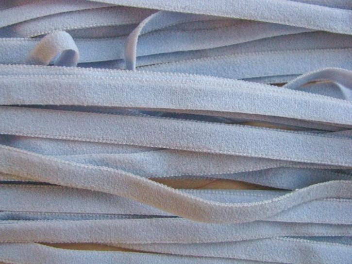 6m zarter Velour-Gummi in himmel-blau Fb0814