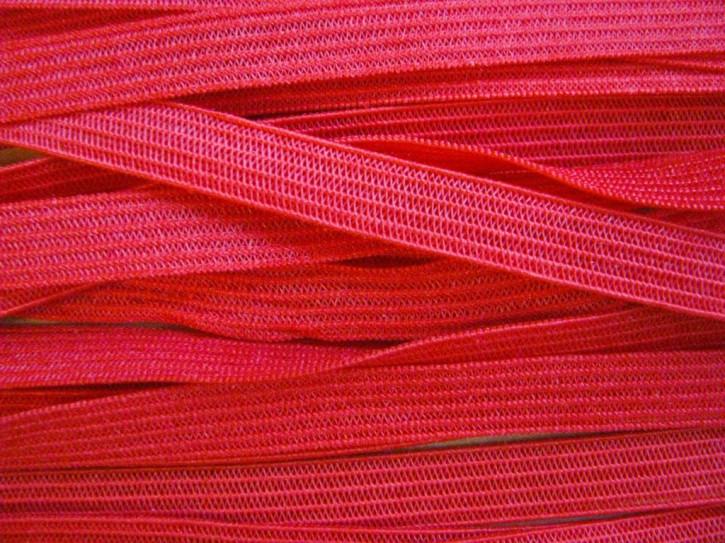 10m zarter Dekollete-Gummi in hot-rot/feurigem Rot Fb0503