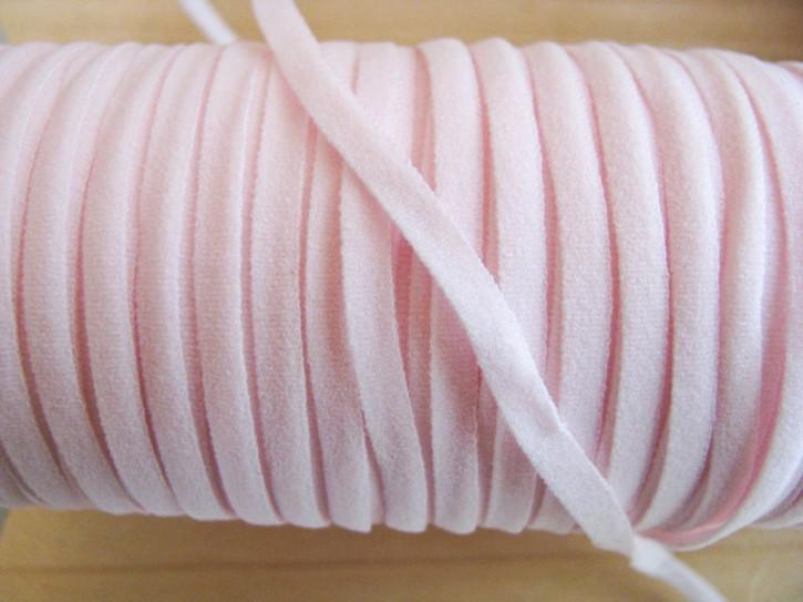 10m zartes Gummibändchen in baby-rosa Fb1056