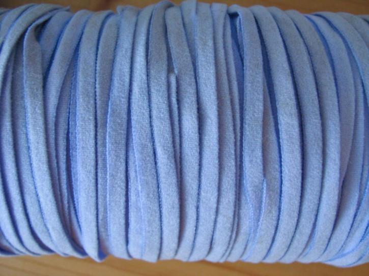 10m zartes Gummibändchen in puder-blau Fb1464