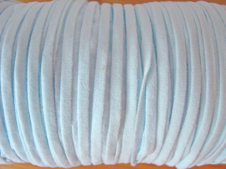 10m zartes Gummibändchen in baby-blau/eis-blau Fb0271