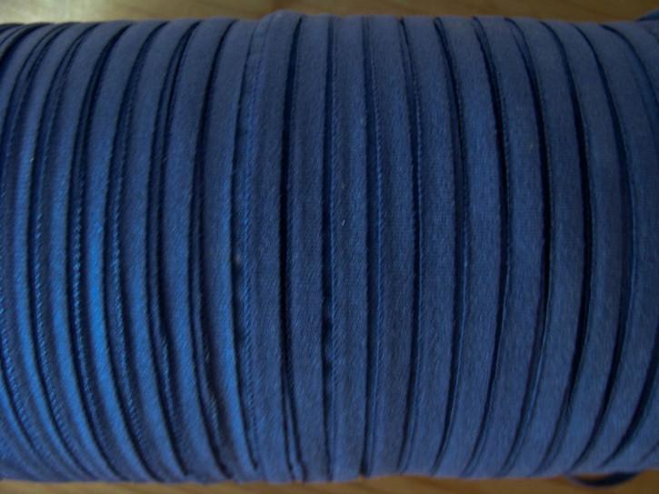 10m zartes Gummibändchen in kadetten-blau Fb0014