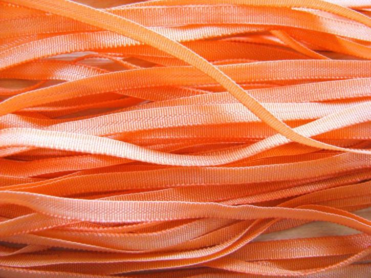 10m zartes Gummibändchen in jaffa/orange FDb1335