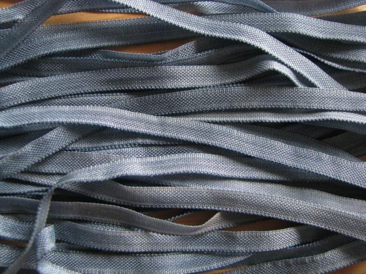 10m zartes Gummibändchen in polar-blau Fb1275