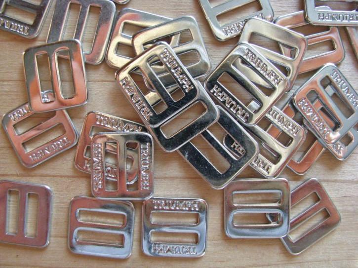 8 Schieber Metall in silber - 10mm