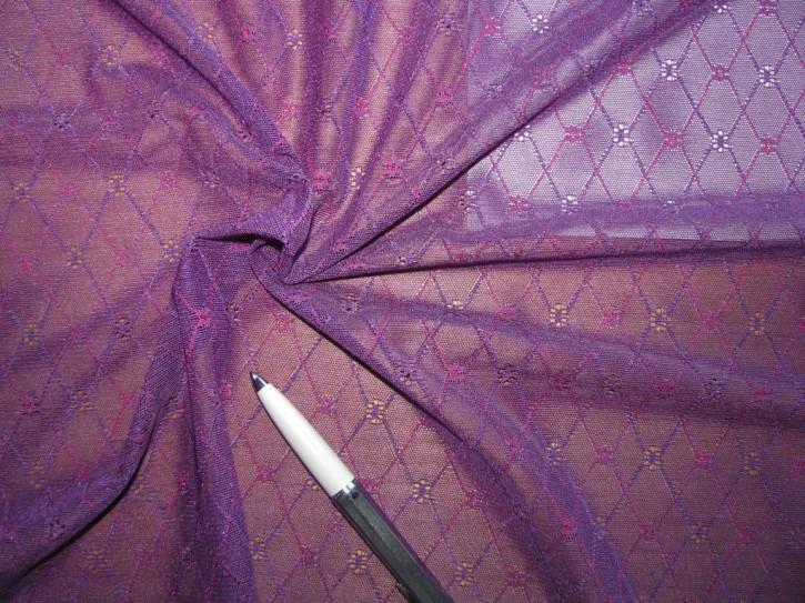 """1m bi-elastische All-Over-Spitze """"Violett Dreams"""""""