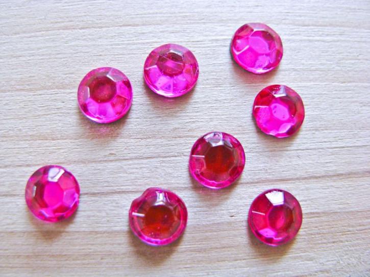"""1g """"Hotfix"""" Paillettensteine SS27 in pink Fb1423"""