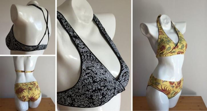 2 Bikini-Modelle in schönem Design
