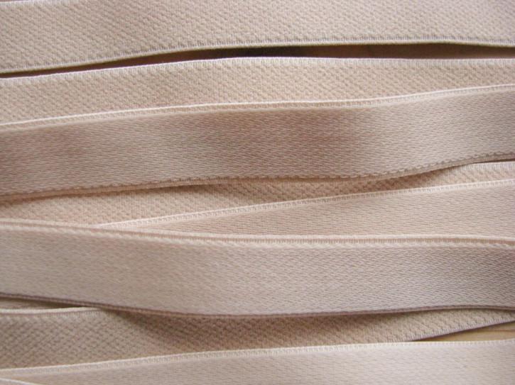 5m Träger-Gummi in hautfarbe/nude Fb0097 -15mm