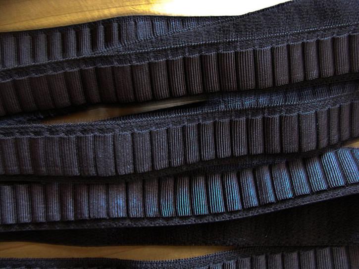 5m Schmuck-Träger-Gummi in schwarz Fb4000 - 15mm