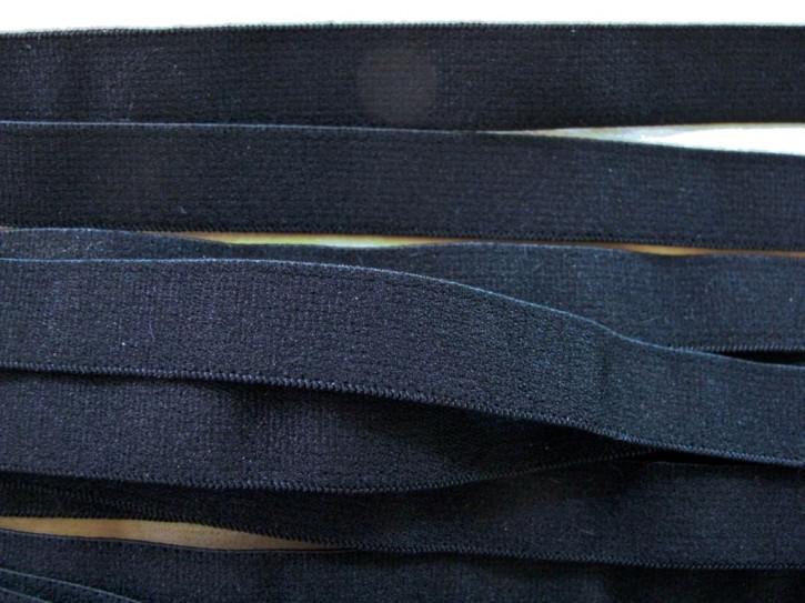 5m Träger-Gummi/Schulterband in schwarz Fb4000 - 13mm