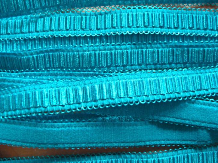 5m Schmuck-Träger-Gummi/Schulterband intürkis-blau Fb1394