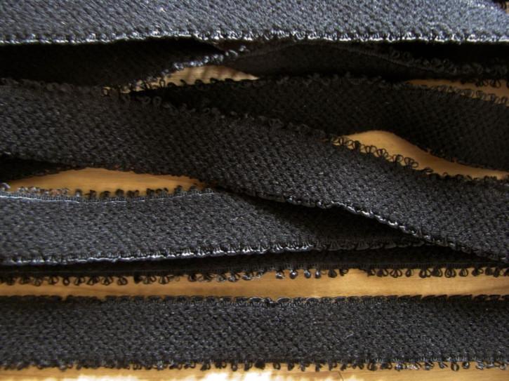 5m Schmuck-Träger-Gummi/Schulterband in schwarz Fb4000