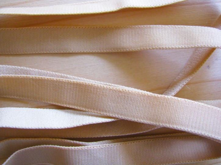 5m Satin-Träger-Gummi in nude/hell-beige Fb1168