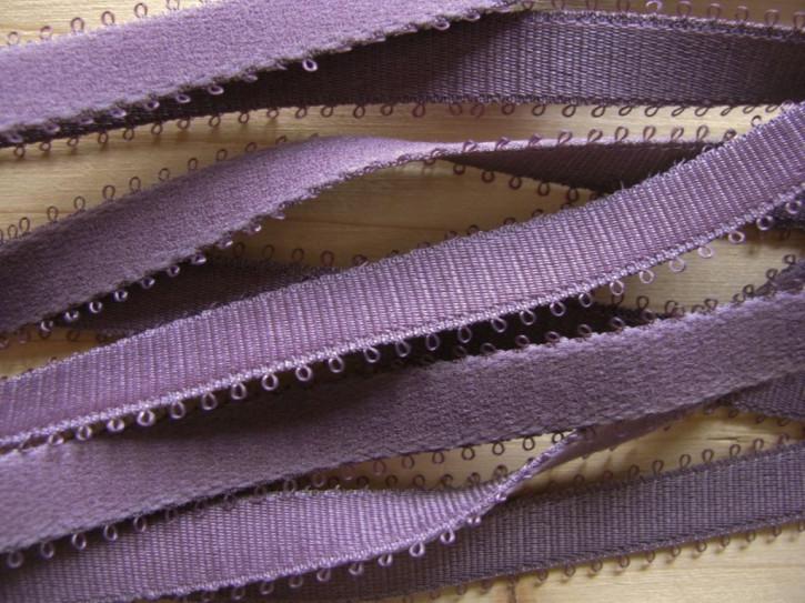 5m Träger-Gummi/Schulterband in hellem maure Fb0155