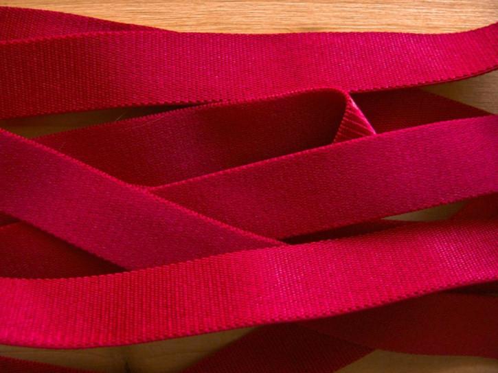 5m Satin-Träger-Gummi in chianti-rot Fb0106