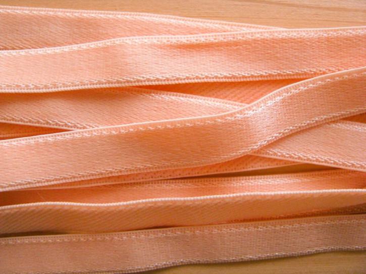 5m Träger-Gummi in zartem pfirsich Fb0135