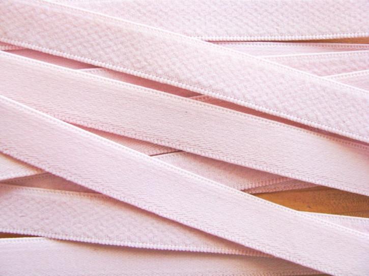 5m Träger-Gummi in hellem rosa Fb0082 -12mm