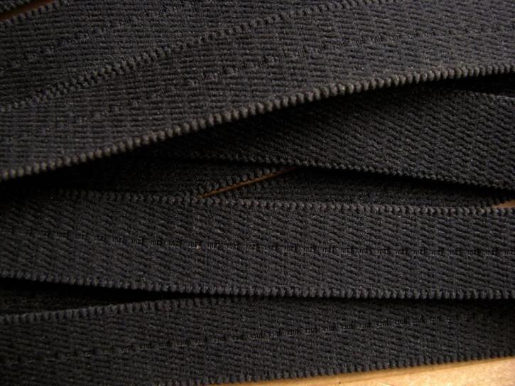 5m Träger-Gummi in schwarz Fb4000 - 18mm