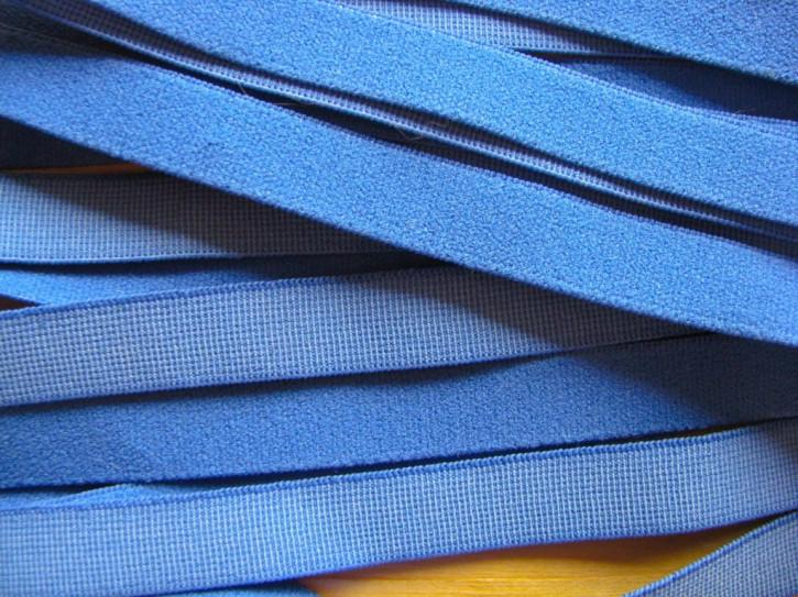 5m Velour-Träger-Gummi in indigo-blau Fb1301