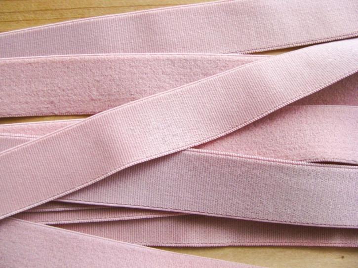 5m Satin-Träger-Gummi in pudrigem rosè Fb0156 - 20mm